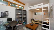 chambre ado optimisée lit mezzanine
