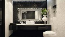 magnifique miroir encadré design luxe salle de bains