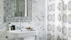 salle d'eau miroir gris design