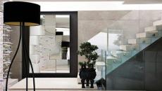 intérieur ultra moderne miroir design