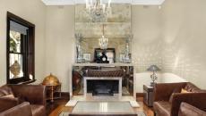 miroir design moderne living