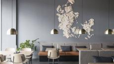 resto intérieur moderne eclectique et minimaliste
