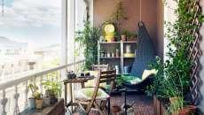 aménager décorer petit balcon appartement ville centre