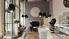 coffee shop design intérieur branché