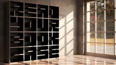 bibliothèque étagère concept art original