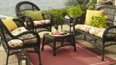 table salon de jardin rotin outdoor rotin design