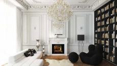 appartement parisien design déco canapé chic