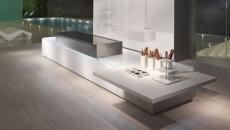 magnifique cuisine contemporaine futuriste
