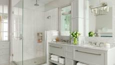 blancheur et beauté salle de bains design marbre