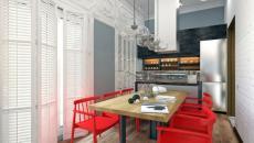 belle cuisine salle à manger design moderne