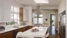 jolie cuisine minimaliste bicolore design contemporain