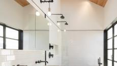 Salle de bain influence industrielle et moderne