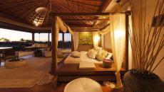 moustiquaire chambre de luxe avec vue