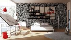 mur papier peint conseil décoration chambre