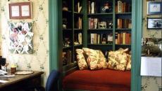 niche de lecture confortable idées déco maison