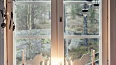fenêtre déco nordique scandinave hiver Noël
