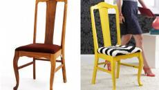 vieux meuble chaise en bois totalement refait