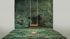 tapis revêtement mural inspiré par la nature