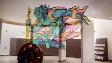 design original anamorphique déco des murs
