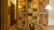 carreaux verre couleur intérieur design moderne