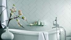 mur design original salle de bain moderne créative