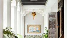 terrasse aux touches dalles maroc