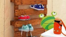 palette meuble rangement chaussure jouets