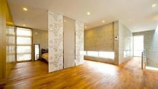 panneaux séparer chambre du salon