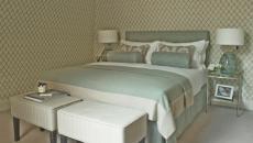 chambre minimaliste papiers peints