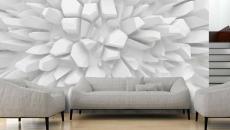 influence abstraite papier peint déco mur
