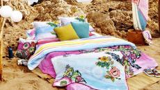influence lit à la plage mer