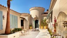 patio rustique moderne ambiance détente