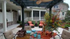 pergola design rustique maison de vacances
