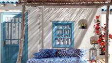 aménagement rustique terrasse sur le toit