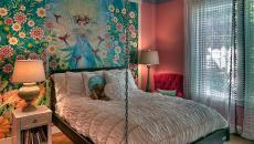 déco design chambre atypique lit suspendu