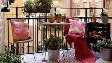 balcon vieux immeuble appartement décoration design