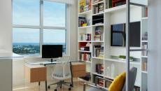 travailler à domicile bureau design