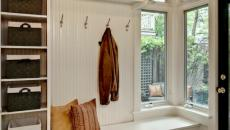 meuble en bois entrée maison aménagement
