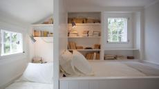 design original petite chambre d'appoint