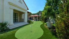 Petite golf de maison jeux outdoor