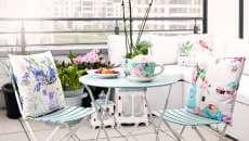 inspiration décorer petite terrasse balcon d'appartement