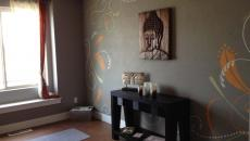 zen design moderne espace de yoga maison