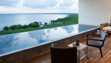 piscine à débordement suite nizuc resort cancun vacances au mexique