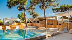 piscine extérieure chauffée vacances en corse repos