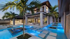 belle résidence exotique avec piscine luxe