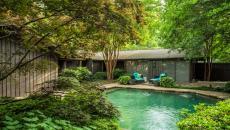 piscine extérieure design naturel luxe