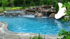 idées piscine jardin espace outdoor