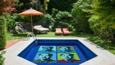 piscine privée suite palace Capri