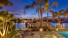 piscine terrasse outdoor luxe villa de vacances