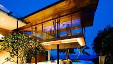 architecture moderne exotique résidentielle maison